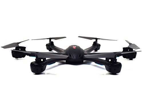 MJX X600 X-SERIES 2.4GHz 4 Channel 6 Axis RC Remote Control Hexacopter UFO Drone with Headless Mode and Auto-Return Feature (Without Camera - Black)