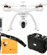 Chroma Camera Drone with 4K C-Go3, ST-10+ Transmitter, Flight Case, and Blade 6300mAh 11.1V LiPo Chroma Battery