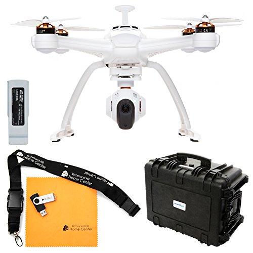 Chroma Camera Drone with 4K C-Go3, ST-10+ Transmitter, Flight Case, and Blade 6300mAh 11.1V LiPo Chroma Battery