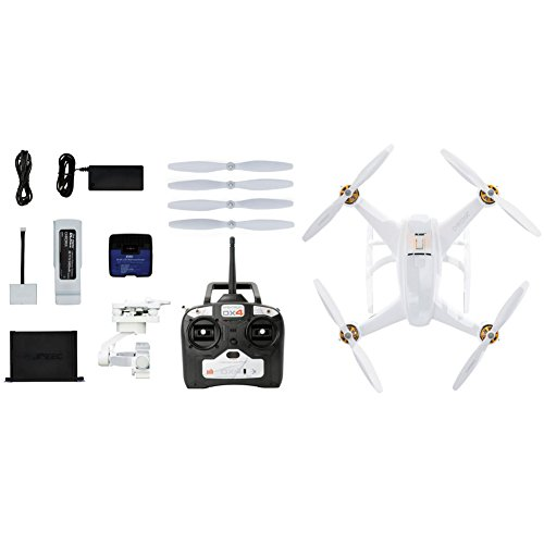 Chroma Camera Drone with 3-Axis Gimbal for GoPro Hero, DX4 Controller, Flight Case, and Blade 6300mAh 11.1V LiPo Chroma Battery