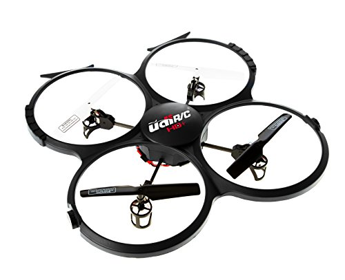*Latest UDI 818A HD+ RC Quadcopter Drone with HD Camera, Return Home Function and Headless Mode* 2.4GHz 4 CH 6 Axis Gyro RTF Includes BONUS BATTERY + POWER BANK (*Quadruples Flying Time*) - USA TOYZ EXCLUSIVE!!